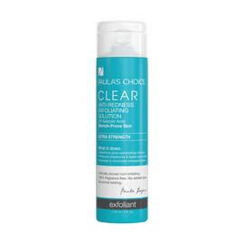 CLEAR Extra Strength Anti-Redness Exfoliating Solution With 2% Salicylic Acid