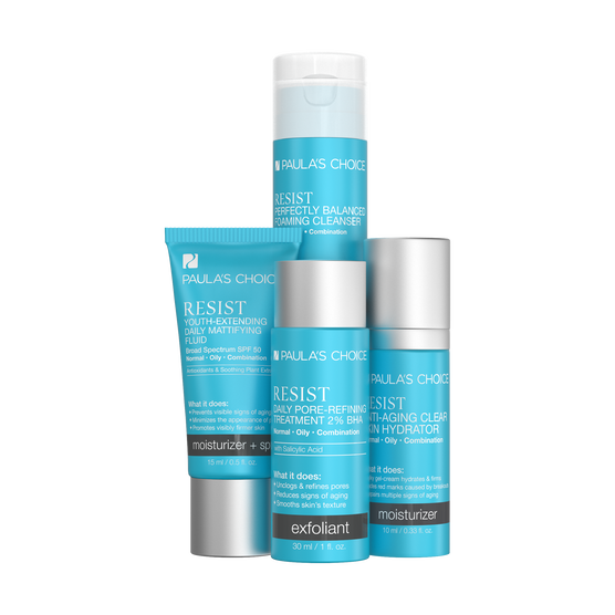 RESIST Travel Kit for Normal to Oily Skin