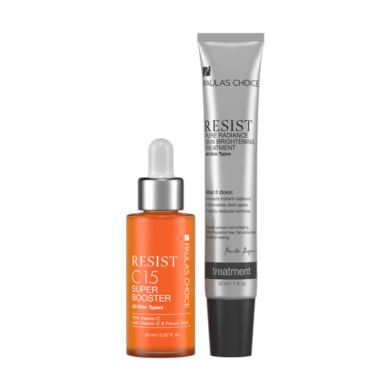RESIST C15 Super Booster + RESIST Pure Radiance Skin Brightening Treatment