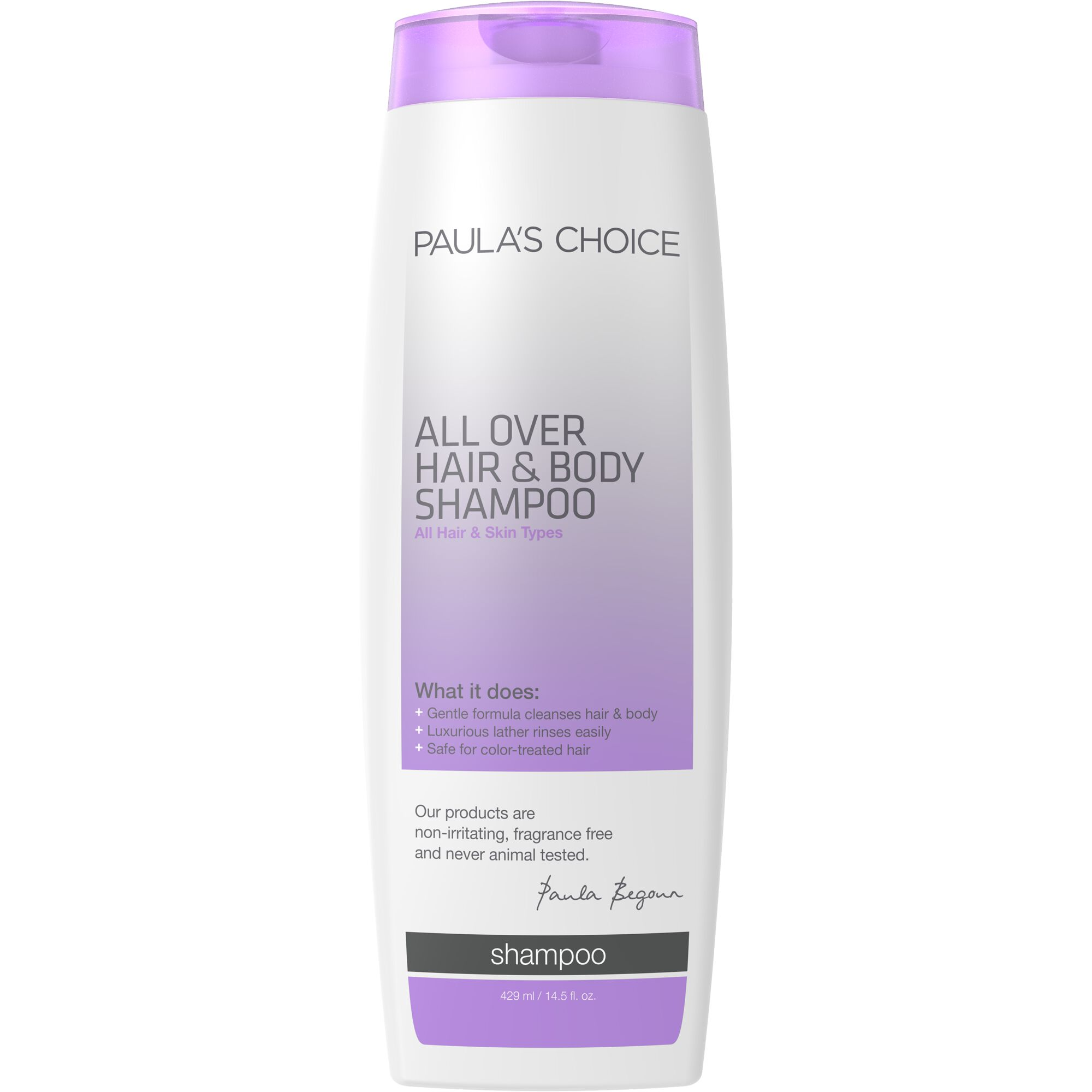 All Over Hair Shampoo Body Wash Paulas Choice