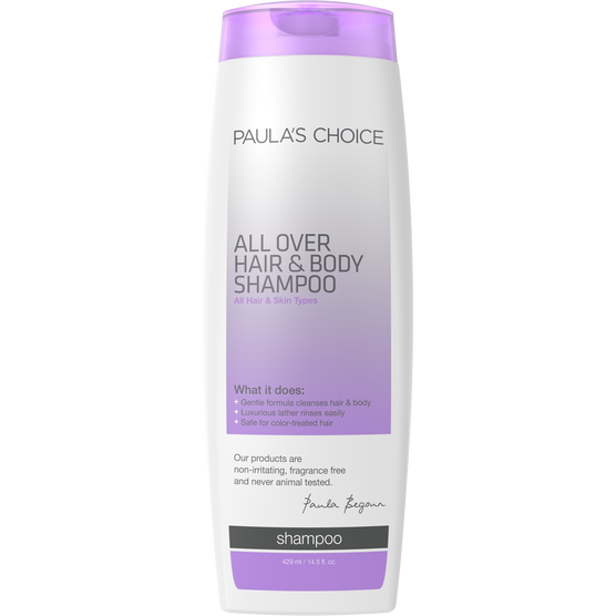 ALL OVER Hair & Body Shampoo