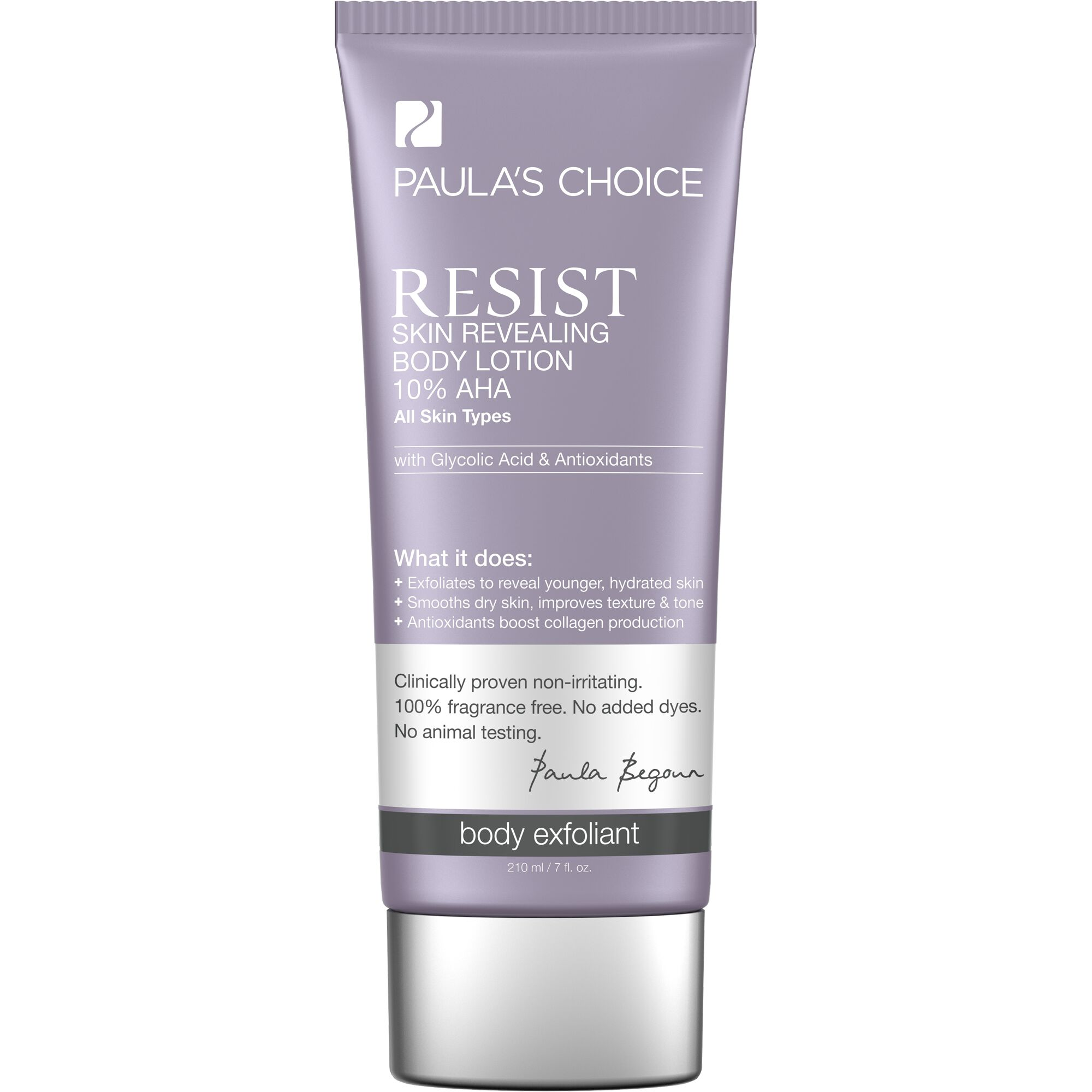 RESIST Skin Revealing 10% AHA Body Lotion | Paula's Choice | 2000 x 2000 jpeg 135kB