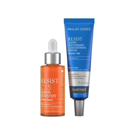 RESIST C15 Super Booster + RESIST Super Antioxidant Concentrate Serum