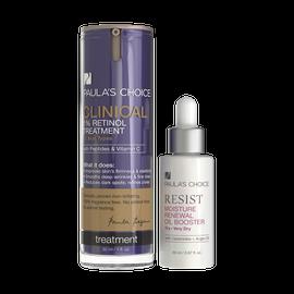 RESIST Moisture Renewal Oil Booster + CLINICAL 1% Retinol Treatment