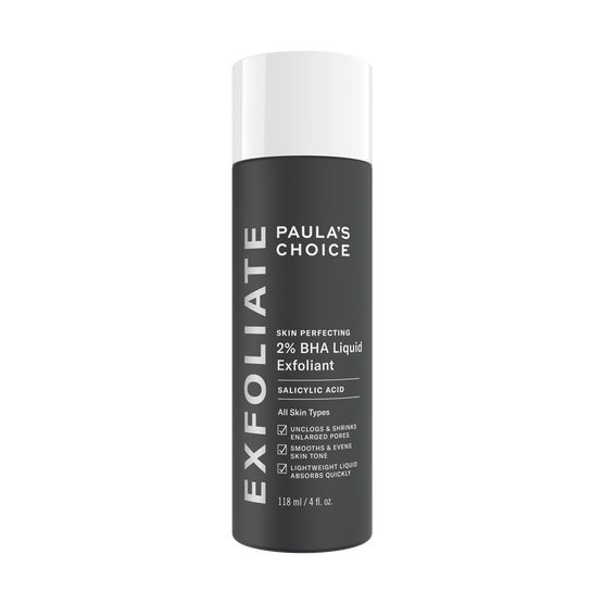 SKIN PERFECTING 2% BHA Liquid Exfoliant | Paula's Choice ...