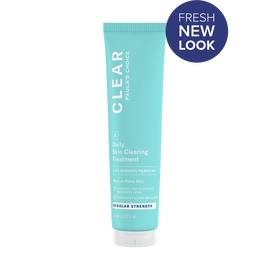CLEAR Regular Strength Daily Skin Clearing Treatment with 2.5% Benzoyl Peroxide