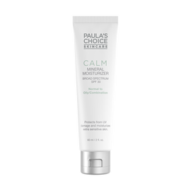 CALM Redness Relief SPF 30 Mineral Moisturizer for Normal to Oily Skin