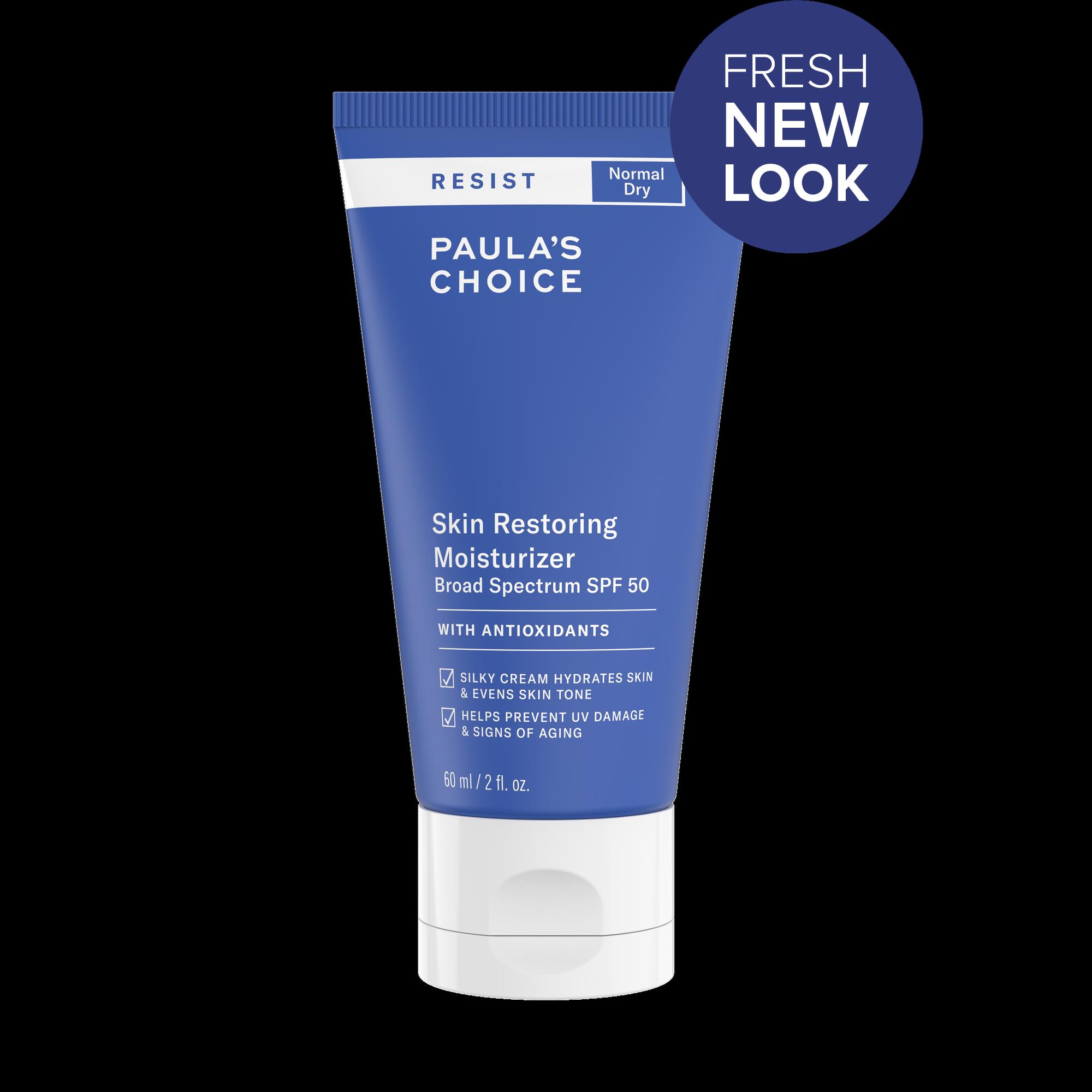 RESIST Skin Restoring Moisturizer with SPF 50 | Paula's Choice.