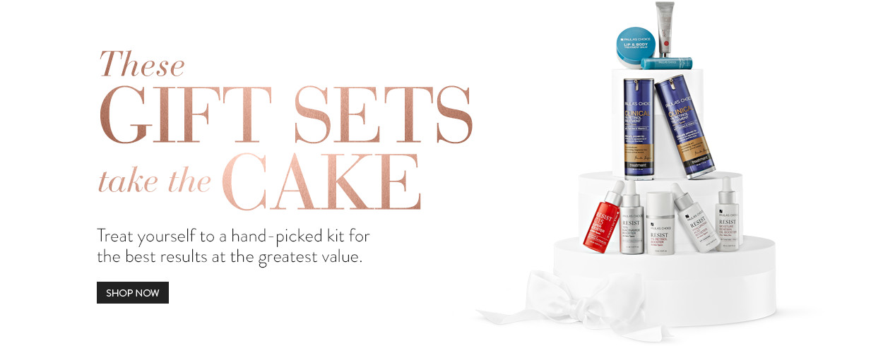 These gift sets take the cake. Treat yourself to a hand-picked kit for the best results at the greatest value.