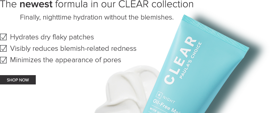 CLEAR Oil Free Moisturizer.