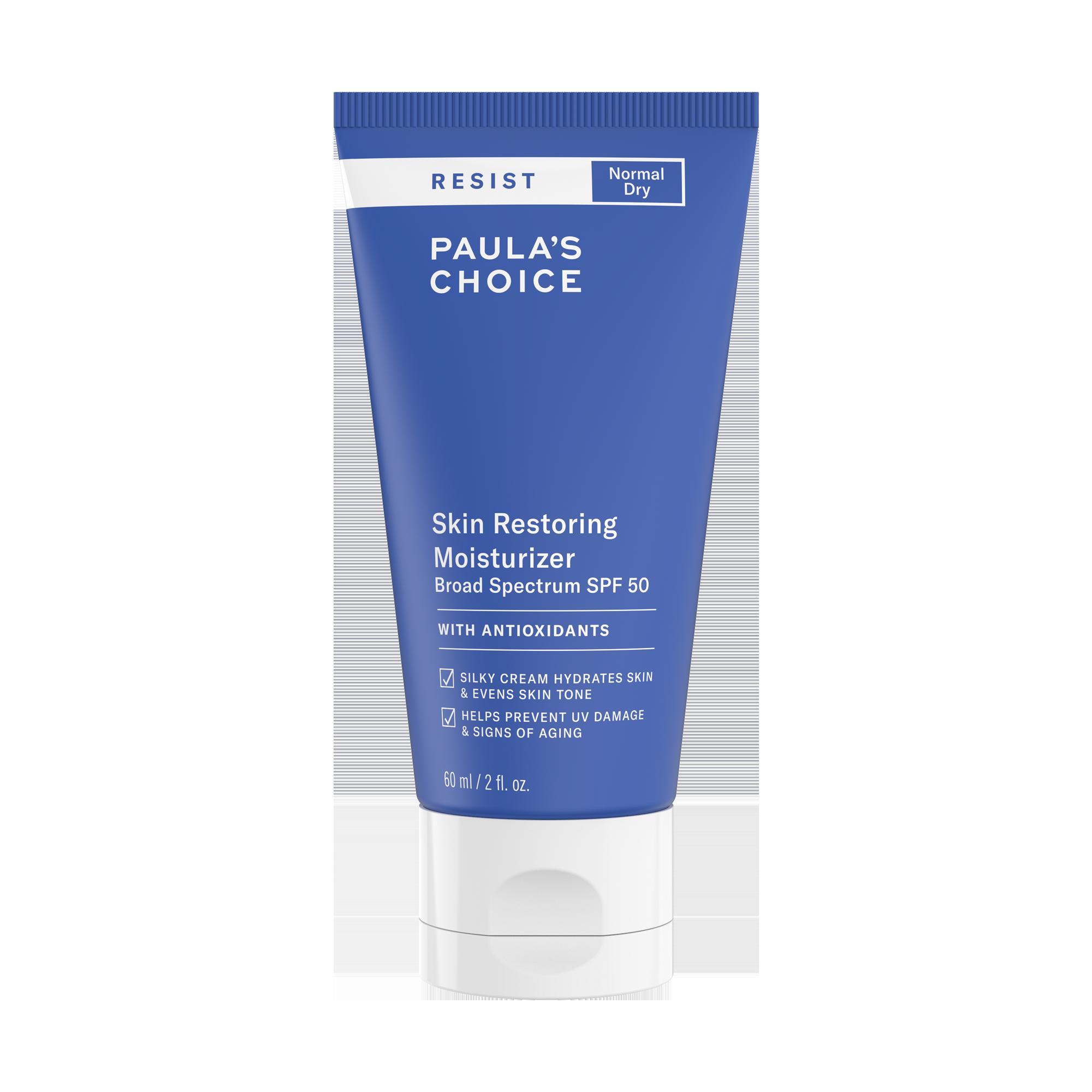 RESIST Skin Restoring Moisturizer with SPF 50 | Paula's