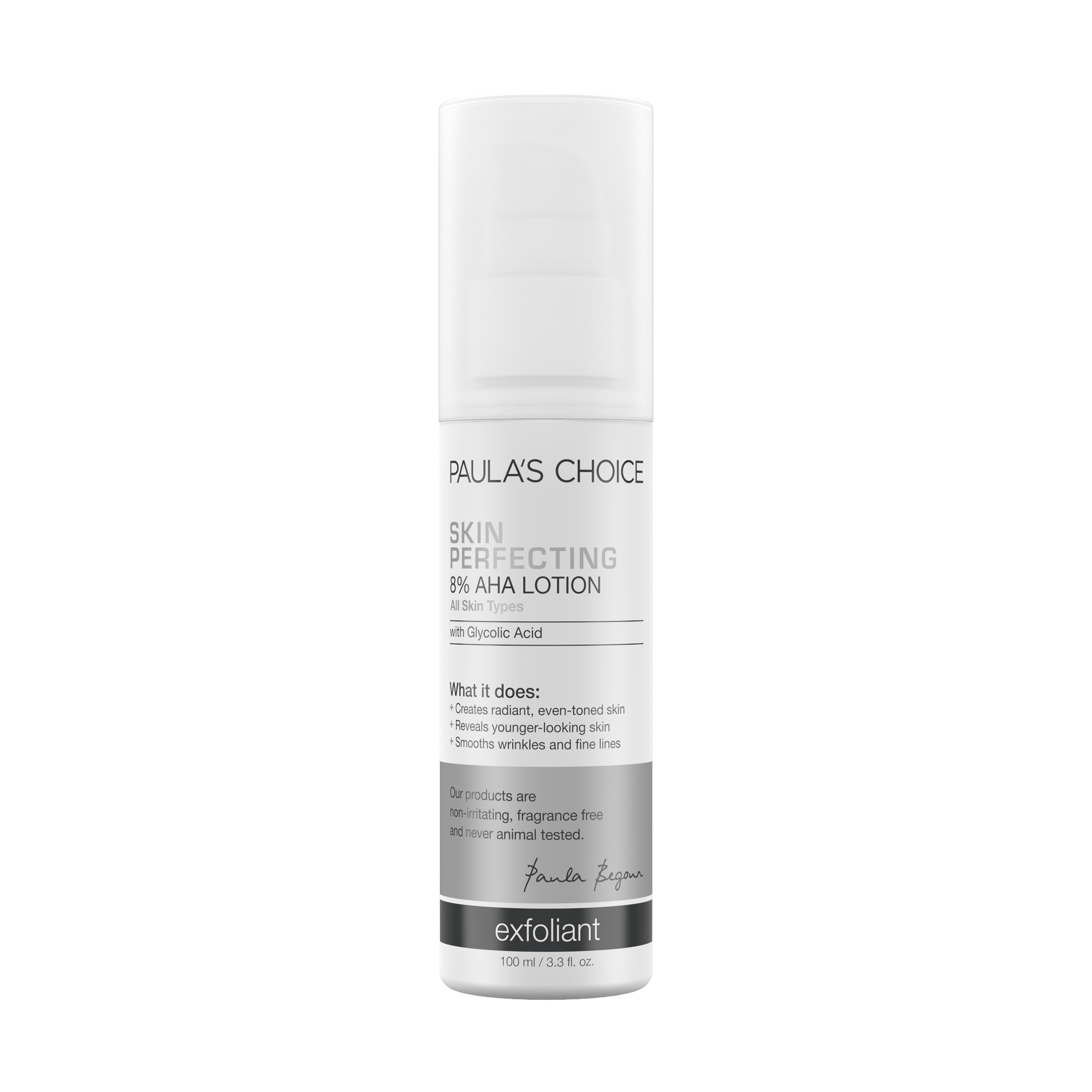 Skin Perfecting 8 Aha Lotion Paula S Choice