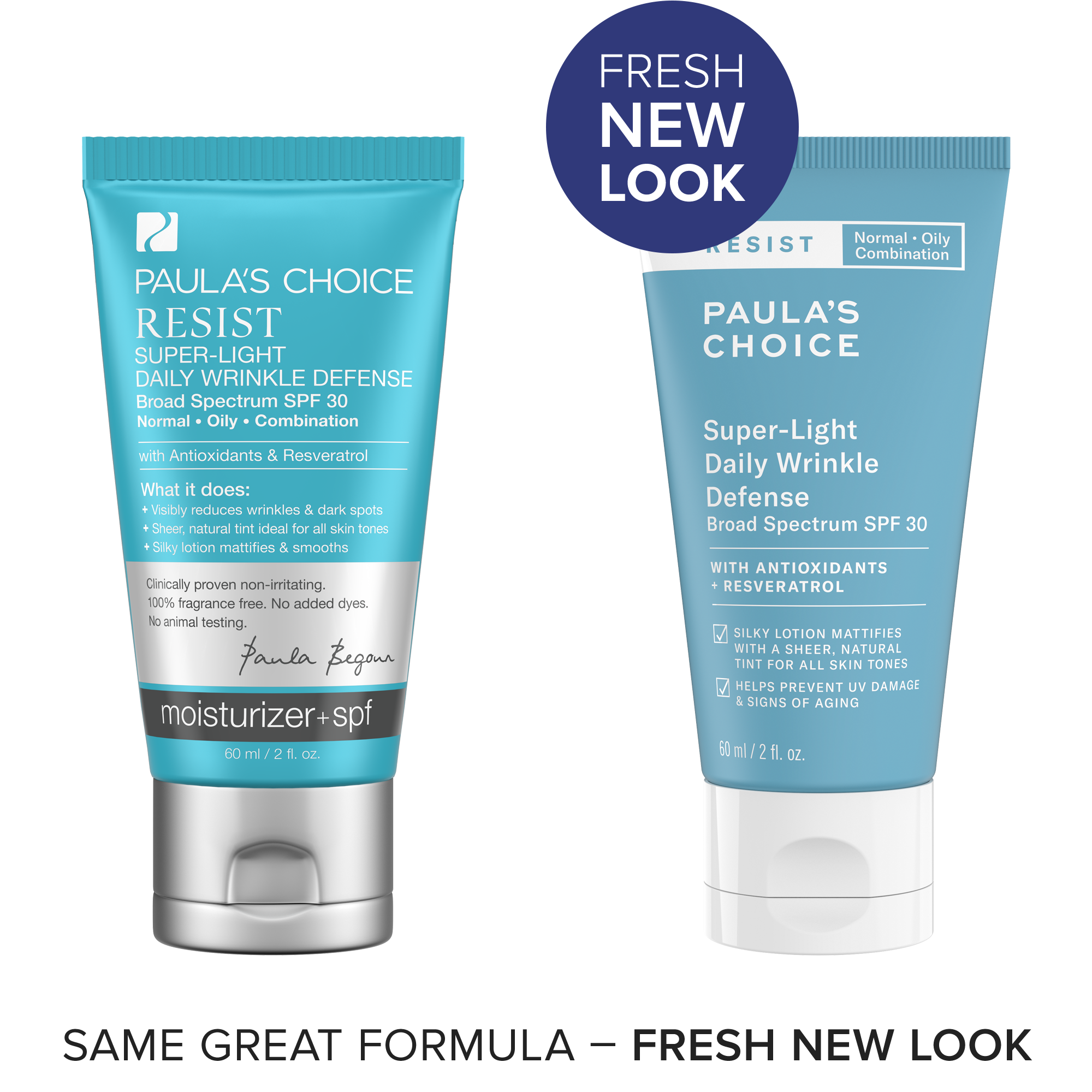 Resist Super Light Wrinkle Defense Spf 30 - Paulas Choice -