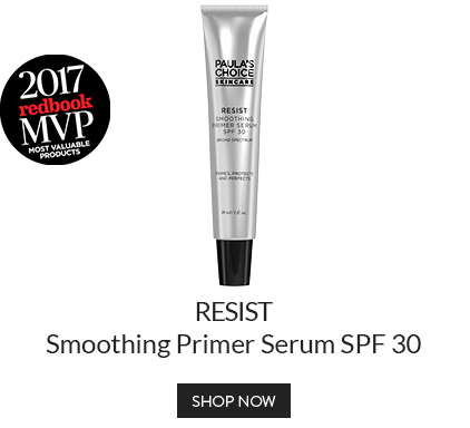 RESIST Smoothing Primer Serum SPF 30 - Winner of the 2017 Redbook Most Valuable Products Award