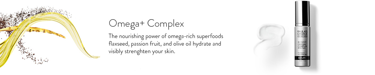 The nourishing power of omega-rich superfoods flaxseed, passion fruit, and olive oil hydrate and visibly strenghten your skin.
