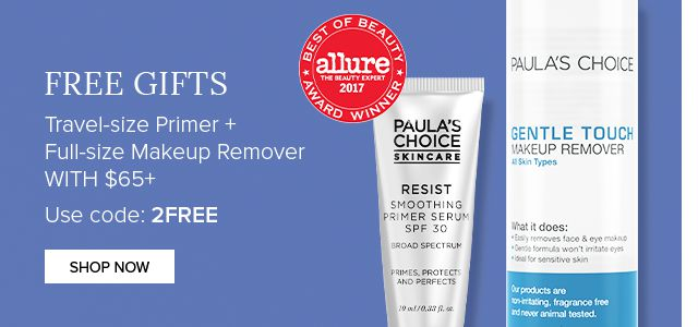 Free Gifts. Travel-size Primer + Full-size Makup Remover with $65+. Use Code: 2FREE.