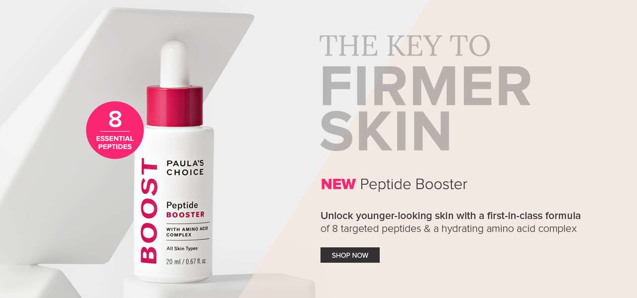 New | Peptide Booster | Unlock younger-looking skin. Shop Now.