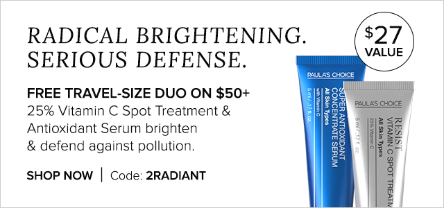 Free Travel-Size Duo on $50+. Shop Now.