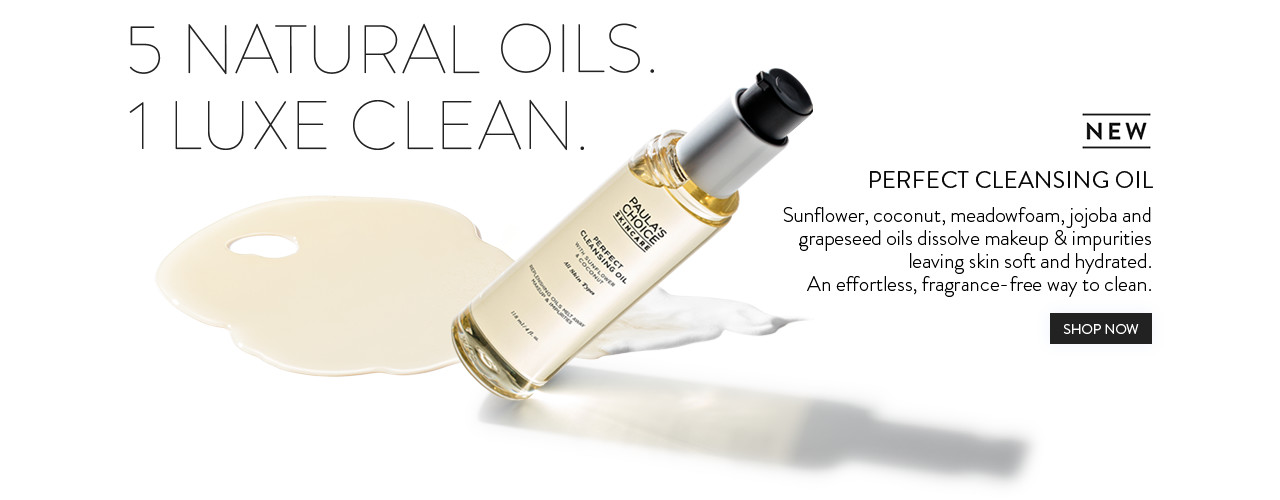 NEW - Perfect Cleansing Oil