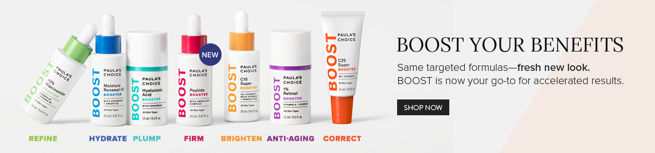 Boost Your Benefits. Same targeted formulas - fresh new look.