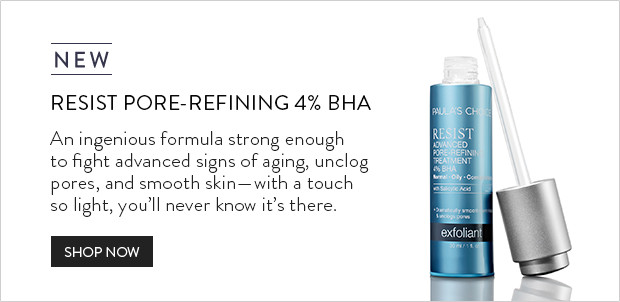 NEW - RESIST Advanced Pore-Refining Treatment 4% BHA